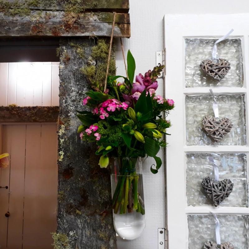 Hanging Test Tube Vases Order Flowers In Vases Online The Flower
